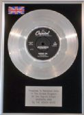 "BEACH BOYS - 7"" Platinum Disc - BARBARA ANN"
